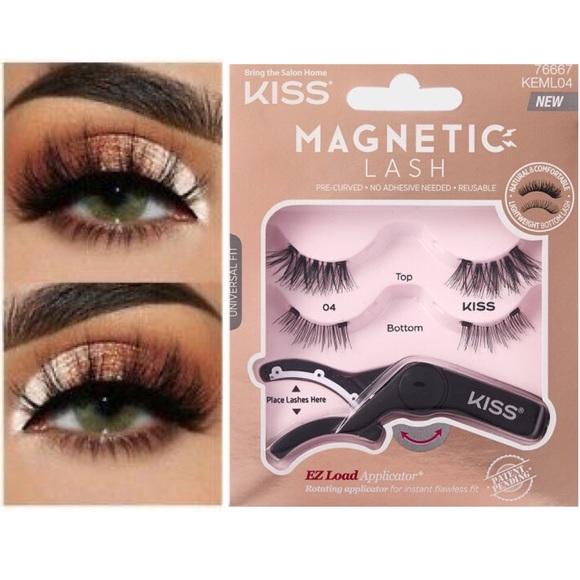 6b4a43f8a2f Kiss Makeup | Magnetic Lash By Lashes 2pk Topbottom Lash | Poshmark